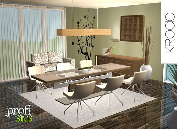 Diningroom Profisims Modern Clothes Assecories Make Up More